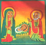 The Nativity  10 x 9.5