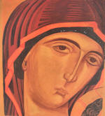 Our Lady of the Passion  - Virgin's face