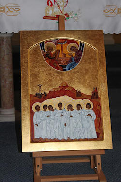 Icon on display