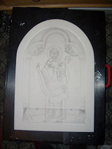 Drawing of the icon