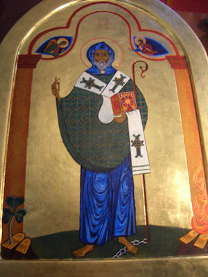 The Icon of Saint Patrick